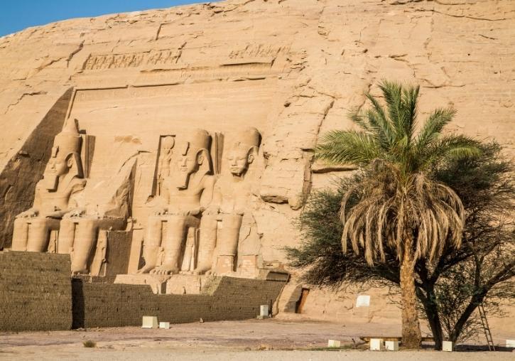 Circuito Egipto con templos de Abu Simbel de noche