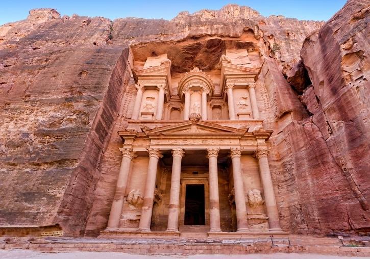 Circuito barato Jordania Aman y Petra con playa