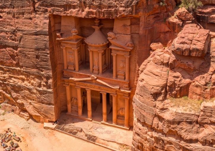 Viaje completo Jordania con Petra y desierto Wadi Rum