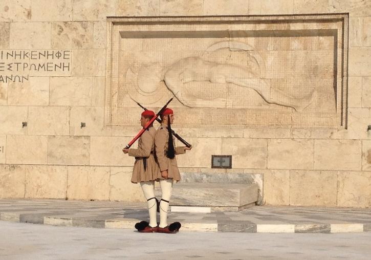 Estancia Atenas visita cambio de guardia