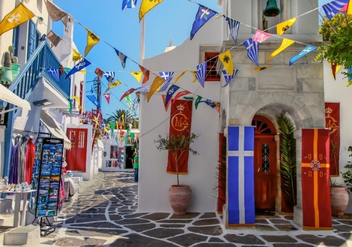 Circuito islas griegas Atenas, Miconos y Santorini 10 días