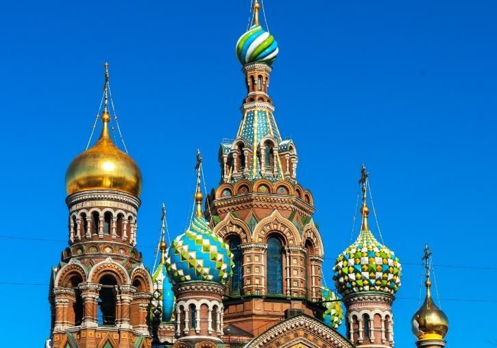 Viaje a Rusia con Moscú y San Petersburgo 1 semana