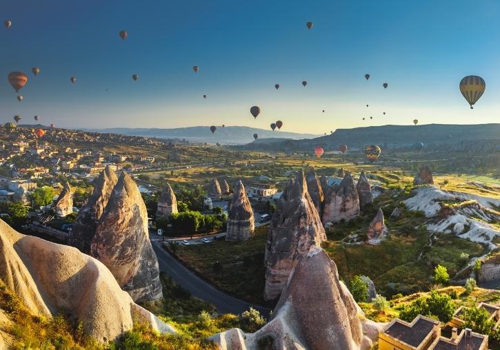 Oferta viaje barato a Estambul, Capadocia y playa en Kusadasi 9 días